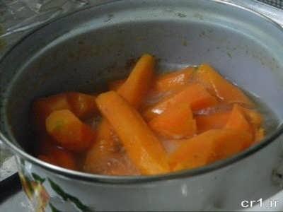 روش تهیه حلوای هویج