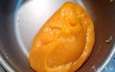 حلوای هویج خوشرنگ و خوش طعم