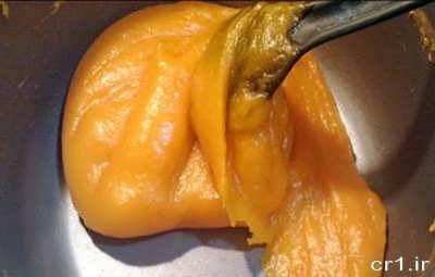 تفت دادن حلوای هویج