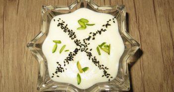 طرز تهیه فرنی با نشاسته به همراه نکات طلایی در پخت فرنی