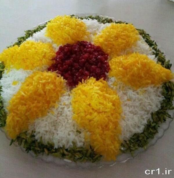 تزیینات برنج برای مهمانی