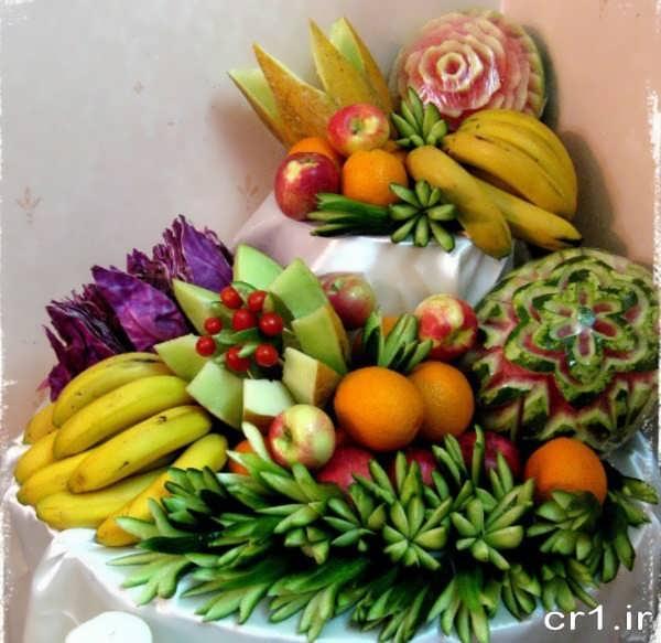تزیین میوه شب یلدا