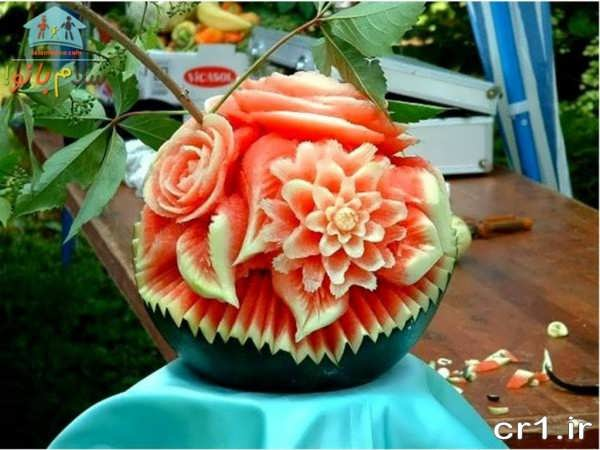 تزیین هندوانه زیبا و شیک