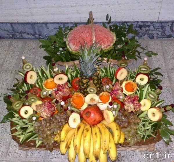 تزیین میوه برای شب یلدا
