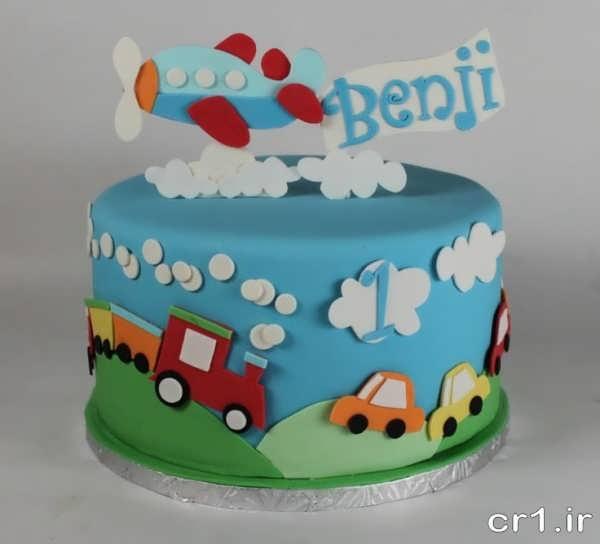 عکس کیک تولد جدید و زیبا