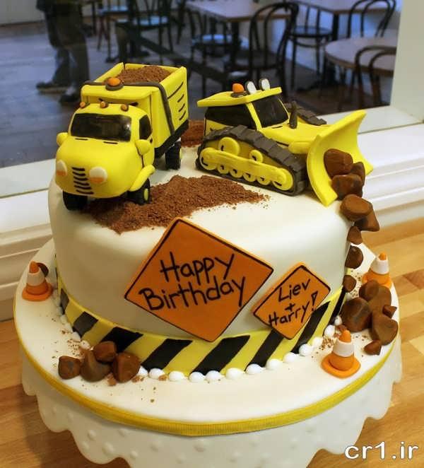 کیک تولد پسر بچه ها