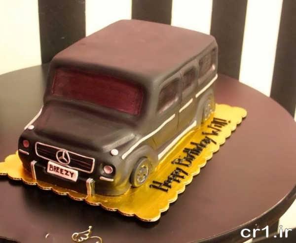 مدل کیک تولد پسرانه ماشین