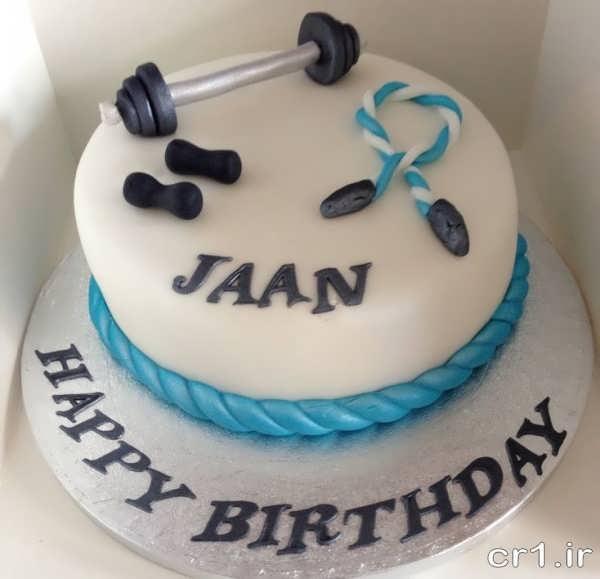 کیک تولد زیبا برای باشگاه پسرانه