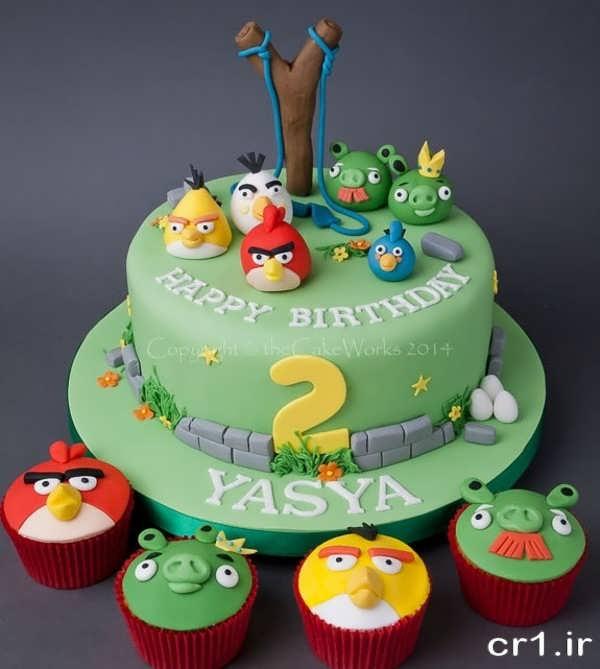 تزیین زیبای کیک تولد پسرانه