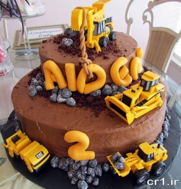 مدل کیک تولد بچه گانه زیبا
