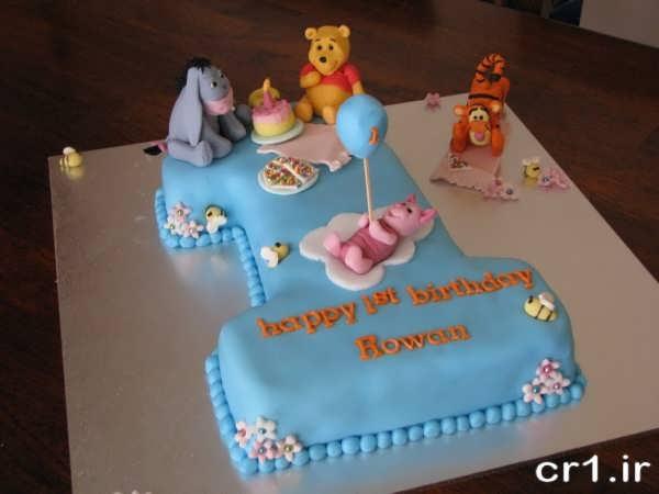 کیک تولد یک سالگی پسرانه