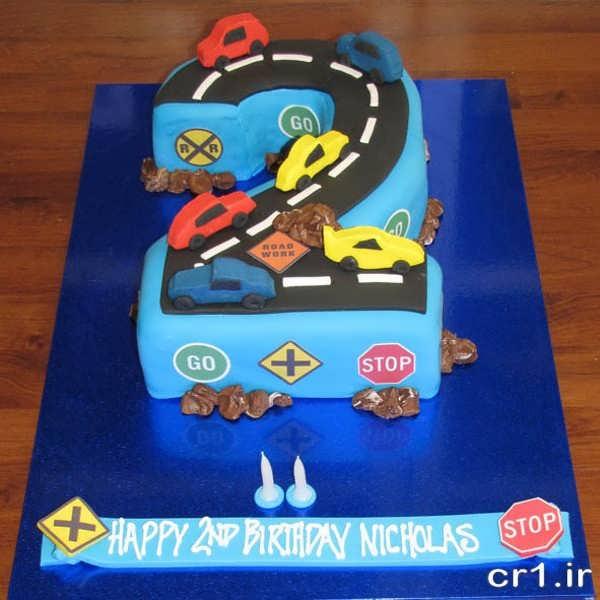 عکس کیک تولد پسرانه جدید