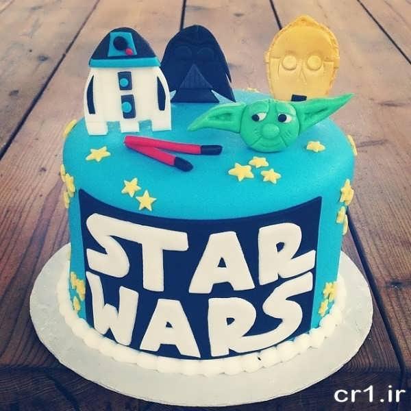 کیک تولد زیبا و جالب پسرانه