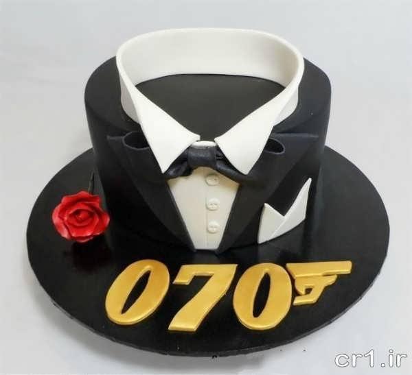 کیک تولد پسرانه بزرگسال