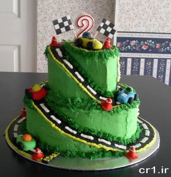 کیک تولد جدید و زیبای پسرانه