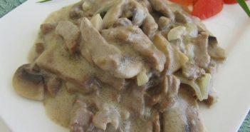 طرز تهیه خوراک قارچ در منزل