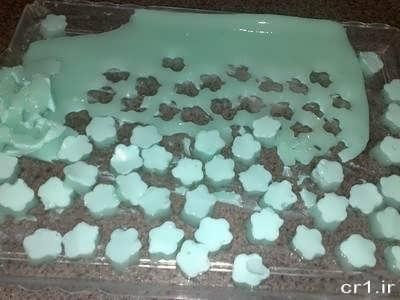 روش تهیه ژله خرده شیشه