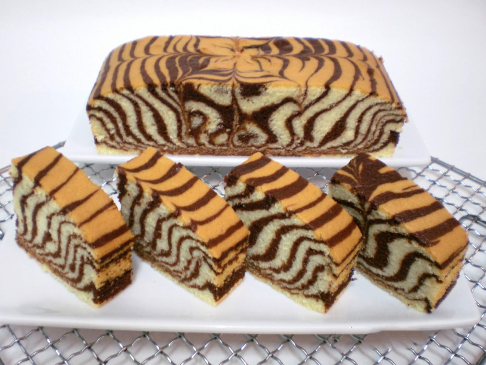 طرز تهیه کیک زبرا در منزل