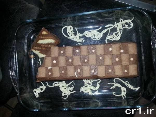دیزاین کیک یخچالی