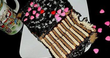 تزیین کیک یخچالی زیبا و شیک