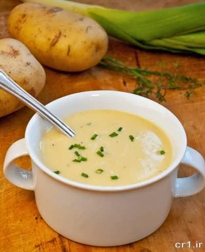 سوپ تره فرنگی خوشمزه و خوش طعم