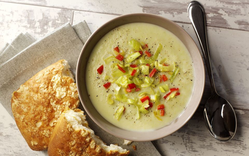طرز تهیه سوپ تره فرنگی در منزل