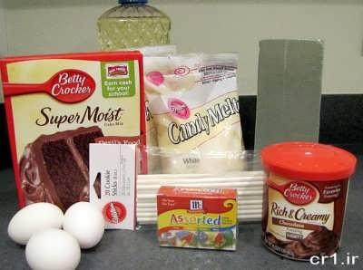 مواد لازم برای تهیه پاپ کیک