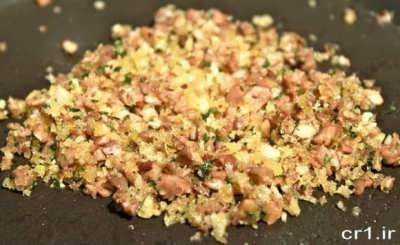 روش تهیه مواد میانی قارچ شکم پر