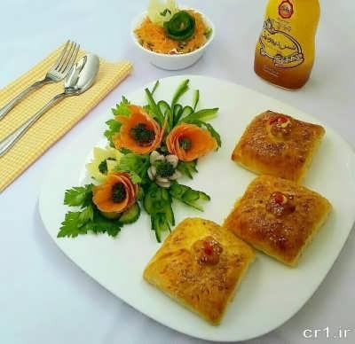 پیراشکی سبزیجات