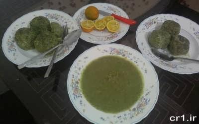 دستور پخت کوفته سبزی در خانه