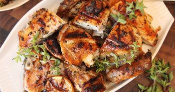 طرز تهیه مرغ یونانی در منزل