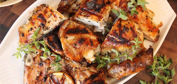 طرز تهیه مرغ یونانی خوشمزه و لذیذ