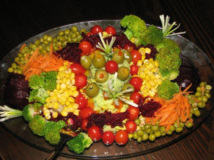 طرز تهیه خوراک سبزیجات در منزل