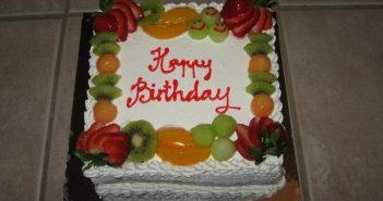 ایده هایی برای تزیین کیک با میوه