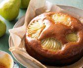 طرز تهیه کیک گلابی خوشمزه و خوش طعم در منزل