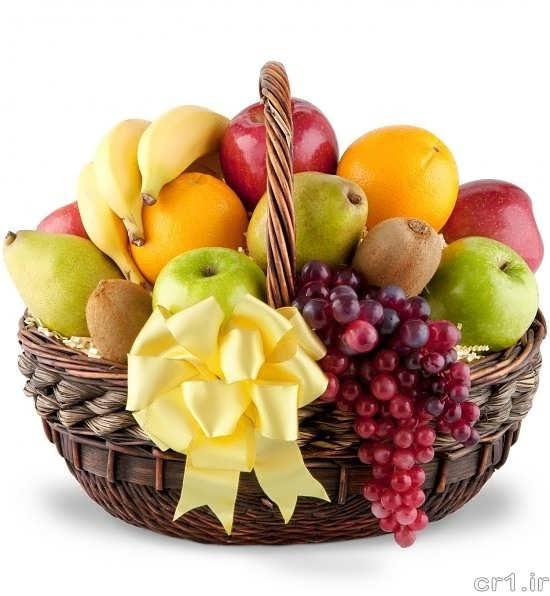 میوه آرایی ساده و جذاب