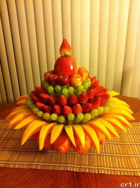 میوه آرایی شیک و ساده