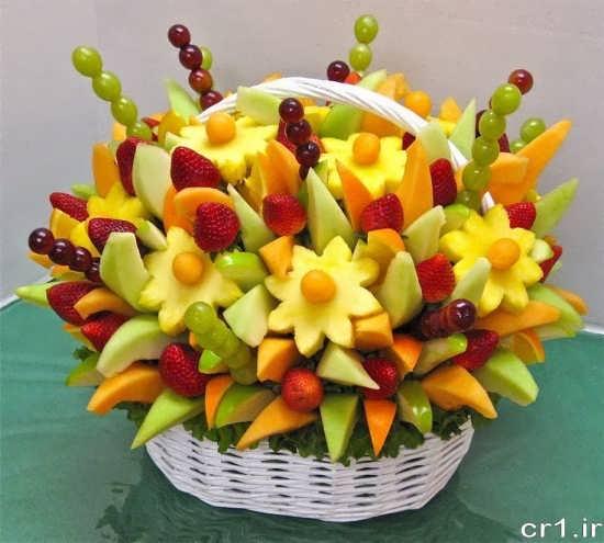 میوه آرایی جدید و خاص