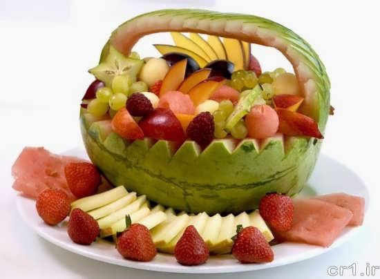 میوه آرایی شیک و جالب