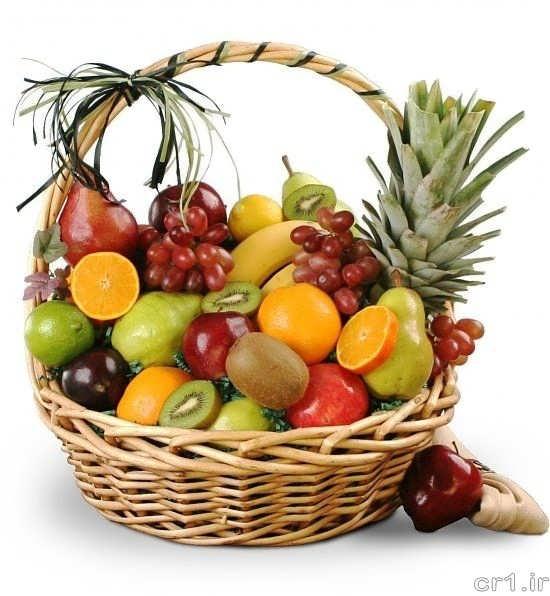تزیین میوه با روش های ساده و جالب