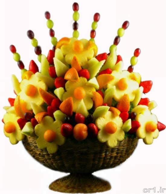 تزیین میوه با روش های مختلف و جالب