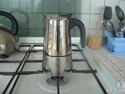 مراحل تهیه قهوه اسپرسو