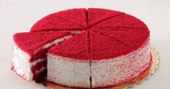 طرز تهیه کیک ردولوت برای ولنتاین