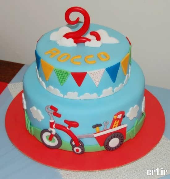 تزیین شیک و خاص کیک تولد