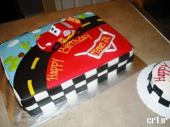 تزیین کیک تولد زیبا
