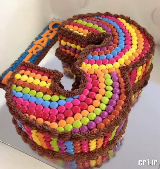 تزیین کیک تولد 3 سالگی