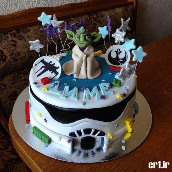 تزیین کیک پسرانه نوجوان