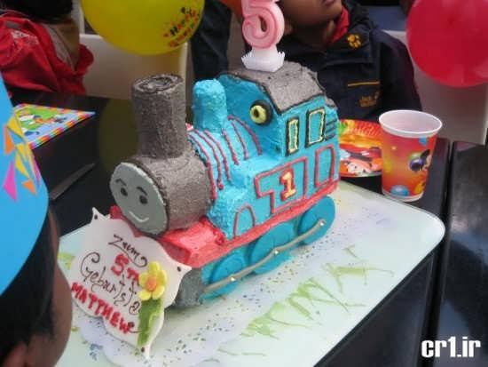 تزیین زیبا و جالب کیک تولد