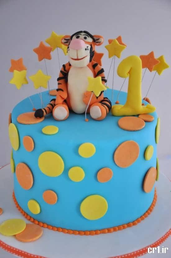 تزیین کیک برای جشن تولد پسرانه