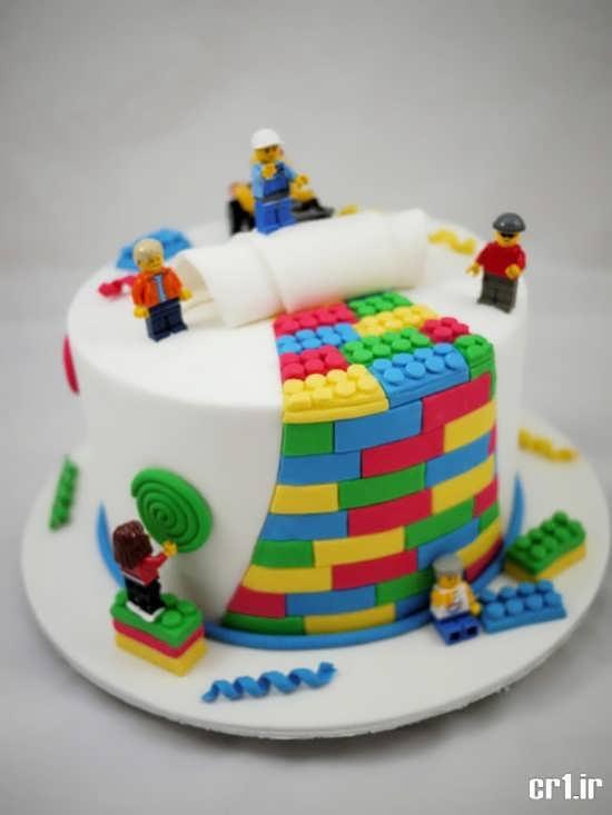تزیین زیبا و جالب برای کیک تولد